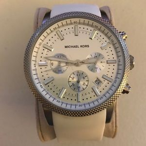 Michael Kors 8284 White Unisex Watch